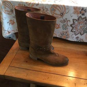 Women's J Crew Brown Boots